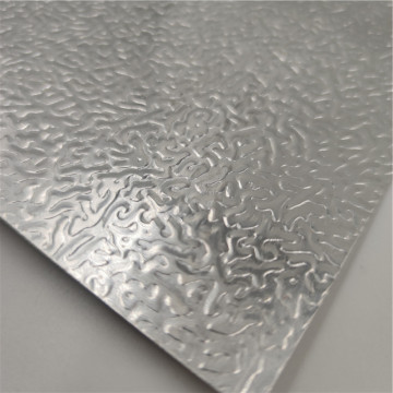 Decoration Aluminum Embossed Plate Sheet