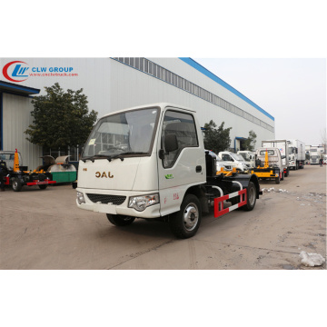 2019 new JAC 3cbm hook loader garbage truck