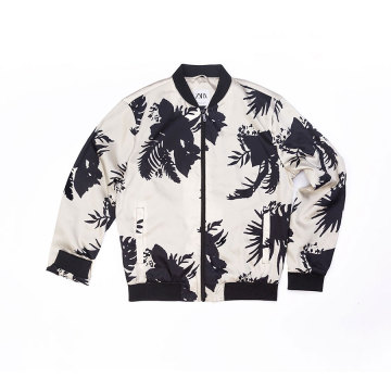 Men`s 100% Polyester printing jacket
