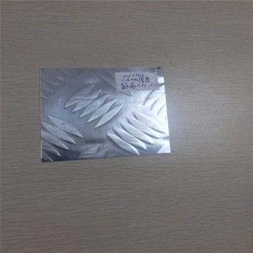 3003 4343 3 bar aluminum brazing pattern plate