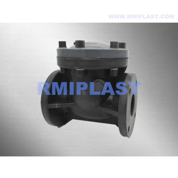 PVC Check Valve Swing Type Flange End