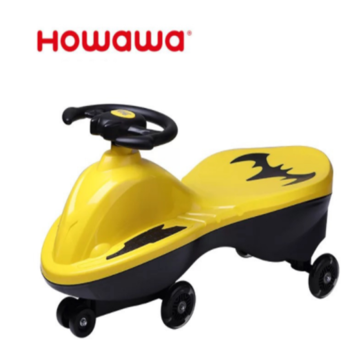 Batman Style Children Twist car Outdoor Toy