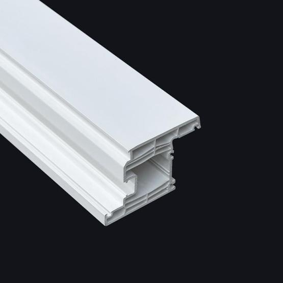 White Plastic Pvc Profile