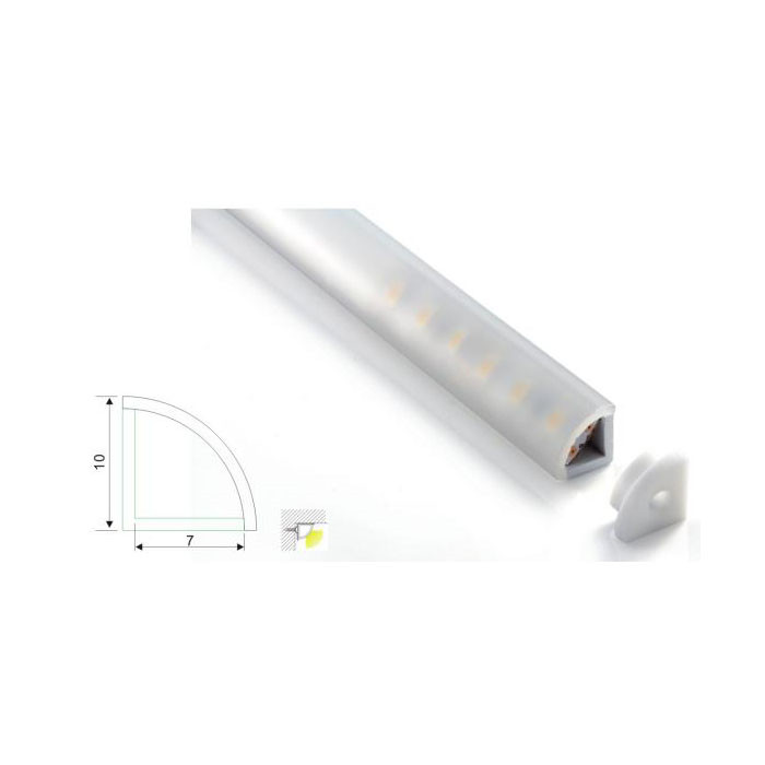 White Industrial Linear Light