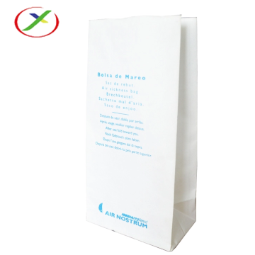 Square Bottom Air Sickness Bag With Logo