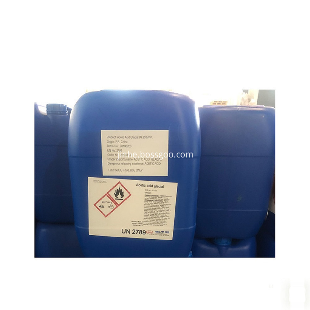 CH3COOH Glacial Acetic Acid 99.8% For Vinyl Acetate