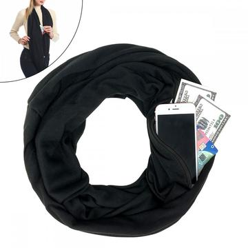 LADES Pocket Scarf Infinity Scarf