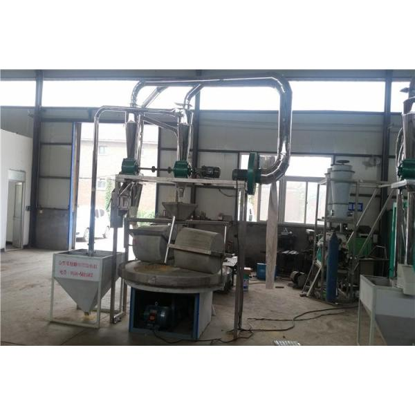 stone mill machine flour milling machine