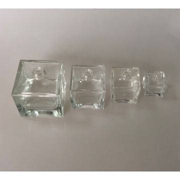 100ml Square Glass Bottle