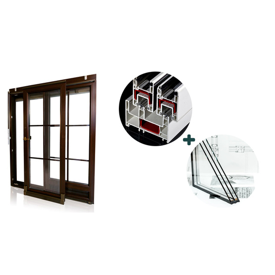 Sliding Window and Doors of PVC Profile