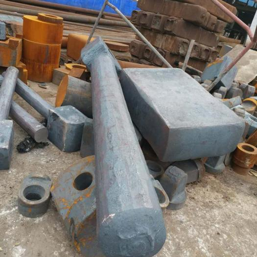 Products made by forging large forgings