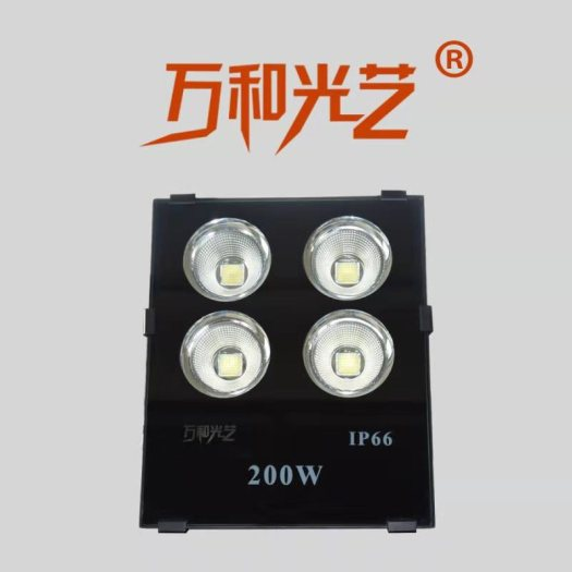 IP66 super bright  COB 200W flood light