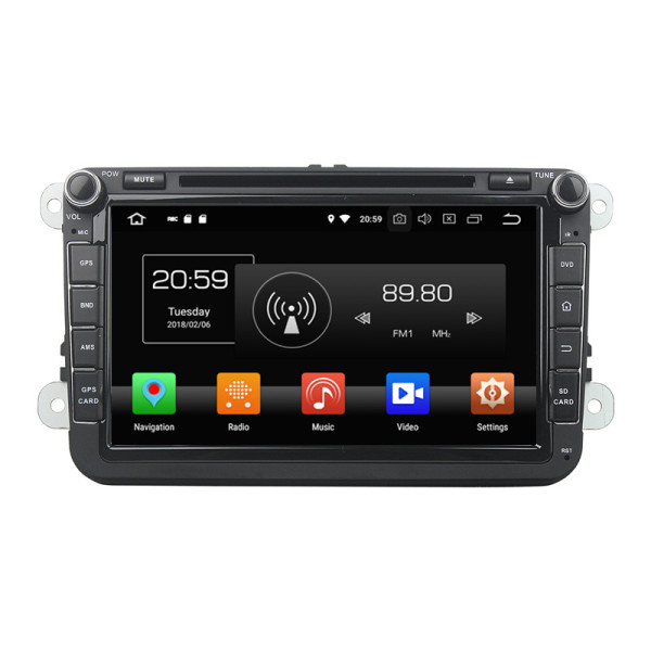 AUTORADIO GPS ANDROID for Passat Golf Touran