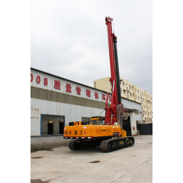 Working principle of rotary drilling rig