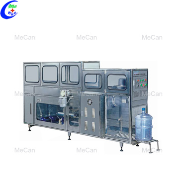 Automatic 5 Gallon Bucket Water Jar Filling Line