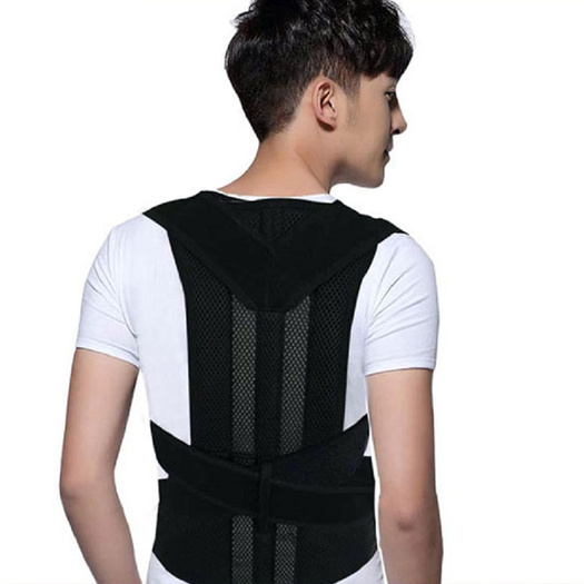 Orthopedic back support bra posture correction belt