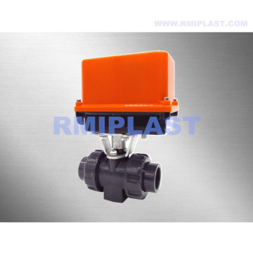 Electric PPH Ball Valve Flange End ANSI CL150