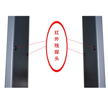 6 Zones door frame walkthrough metal detector