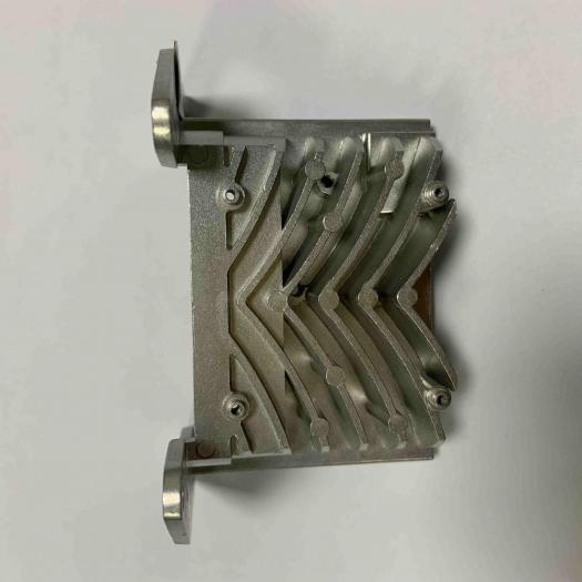 Custom Aluminum Die Casting parts with sandblasting