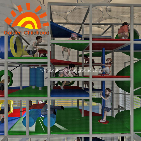 Indoor Kids Play Equipment Structure