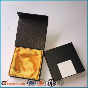 Bracelet Paper Box Black With Satin Lining