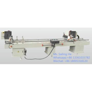 Double Miter Saw for Aluminum & PVC Profiles