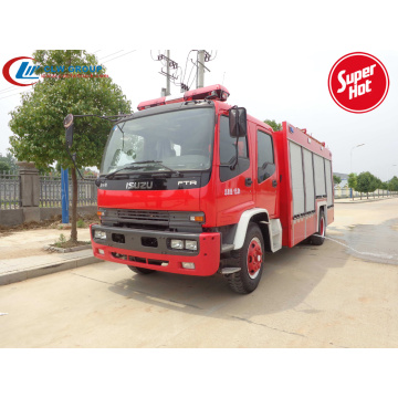 2019 New ISUZU 6000litres fire fighting foam truck