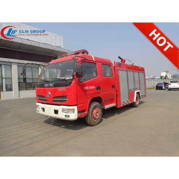Brand New Dongfeng 3500litres water fire rescue trucks