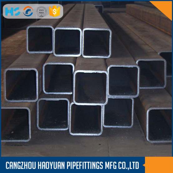 Carbon material st37 square steel tubing