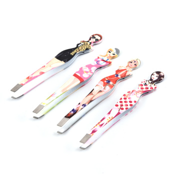 Stainless steel trim eyebrows eyebrow clip to eyebrow threading makeup threading beauty tools