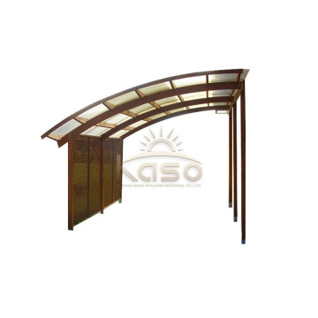 Polycarbonate Car Shelter Canopy Cab Double Carport