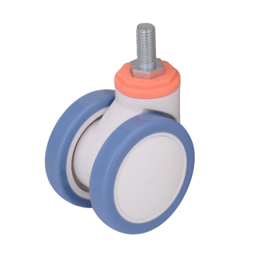 3 Inch Medical Casters With Threaded Stem