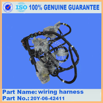 Komatsu spare parts PC210LC-8 wiring harness 20Y-06-42411