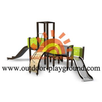 HPL Modern Outdoor Kids Play Structure For Sale