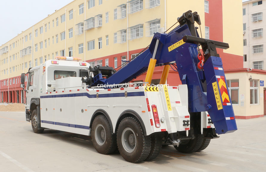 howo heavy duty towing truck 2