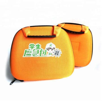 Storage First Aid Kit Case EVA Medical Case Box with Rubber Handle