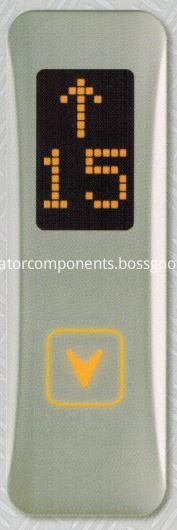 Passenger Lift LOP With Indicator Ultrathin Design 10mm