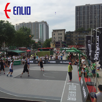 FIBA 3x3 Challenger Basketball Sports Flooring
