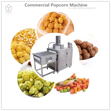 Stainless steel popcorn machine with simple operation