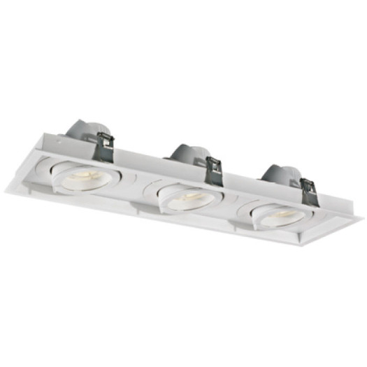 Rectangular Design Technology 30W*3 LED Downlight