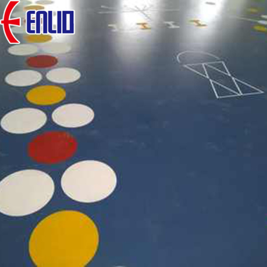 gymnasium room vinyl synthetic sports flooring
