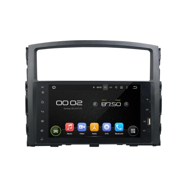 full touch vehicle dvd player for PAJERO