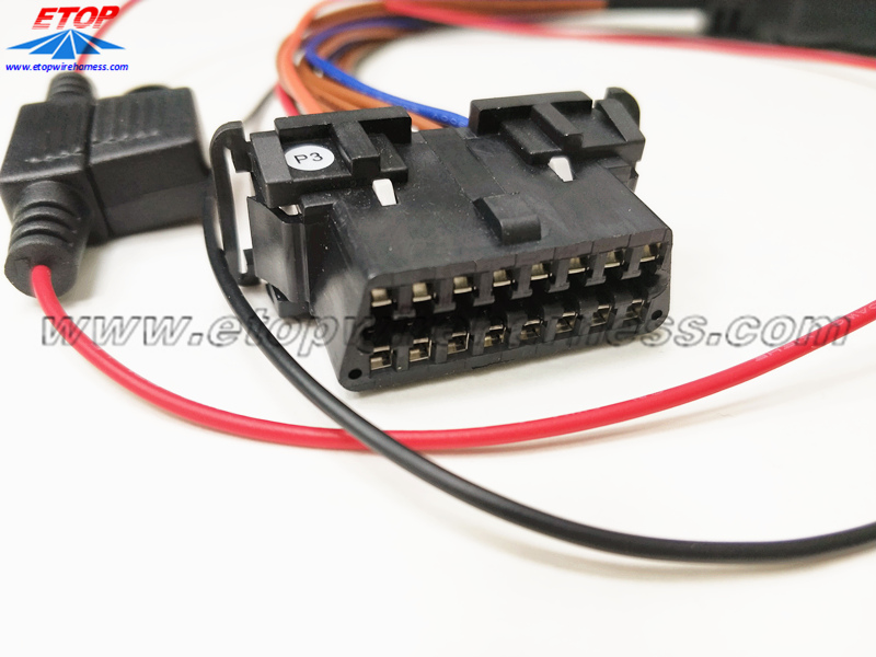OBD female connector