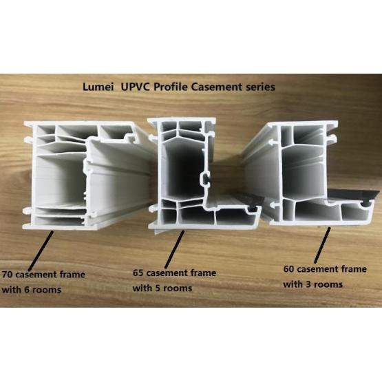 Co-extruded Pvc Profile for widow