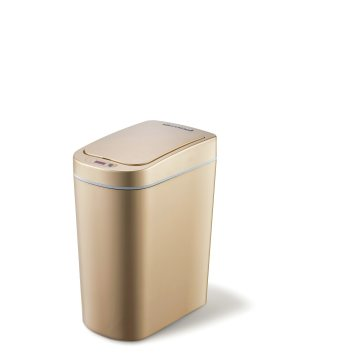 Ninestars Modern Automatic Small Sensor Dustbin for Bathroom