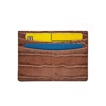 Best Genuine Crocodile Leather Business Credit Card Holder