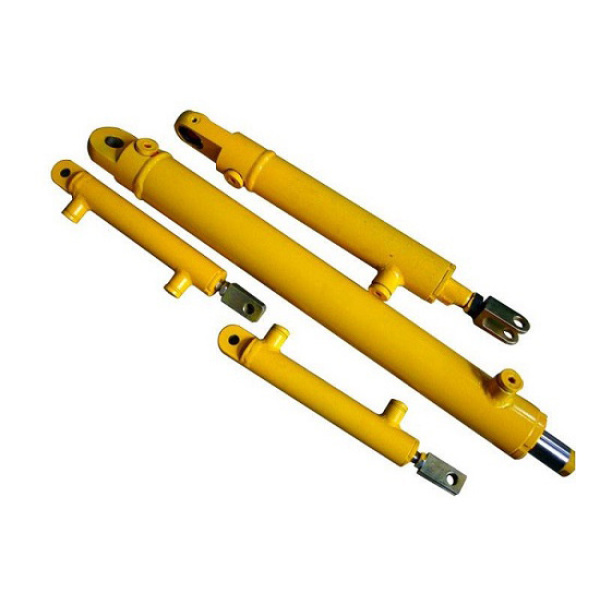 double acting single piston rod hydraulic cylinder