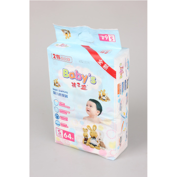 100%Cotton High Absorbency Baby Diaper With SAP