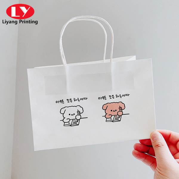 Cheap paper shopping bag store bags paper