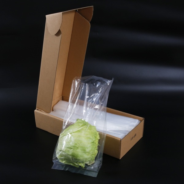 Clear Flat Bag in Box with Printing